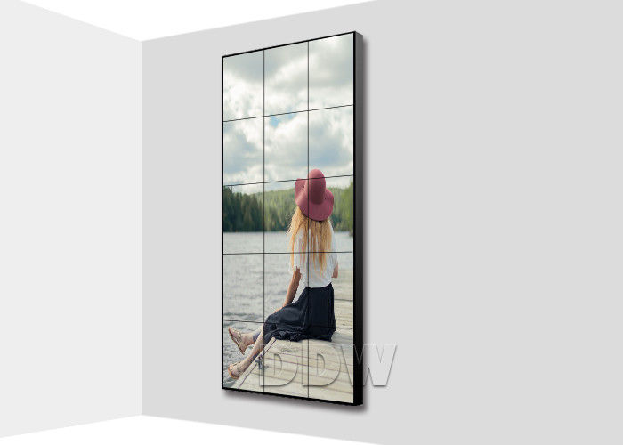 1.7 mm super narrow bezel video wall displays 46 inch lcd video wall video  Signal support