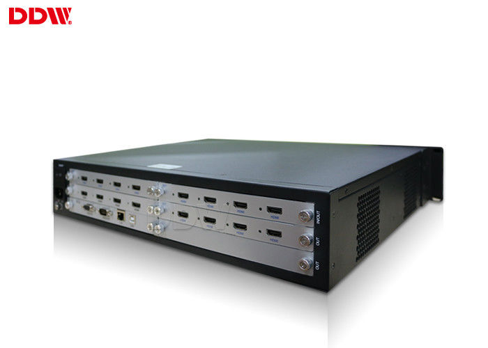 144 input output Datapath x 4 - video wall controller , Horizontal Display VGA Video Wall Controller DDDW-VPH0506