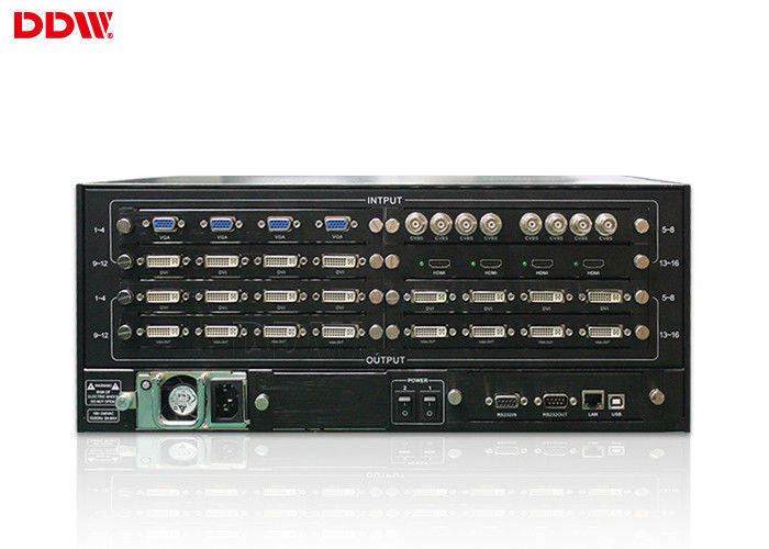 128 input output video display controller , outdoor video screen wall controller DDW-VPH0303